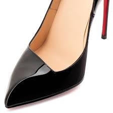 christian louboutin corneille patent leather black christian