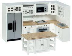 modern dollhouse furniture m112 pods frenton kitchen in white