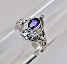 jewelry urns amethyst cremation urn ring 7 1 2 silver cremation ring