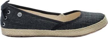 ugg womens indah shoes ugg 1003493 blk indah ballet s shoe black at shoe palace