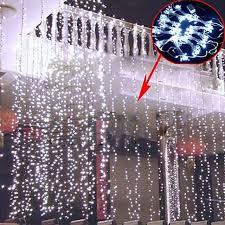aliexpress com buy 10pcs 3 3m 300led curtain light showcase