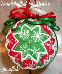 426 best no sew quilted ornaments images on quilted