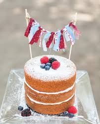 red white and blue cake cakelet kid parties pinterest