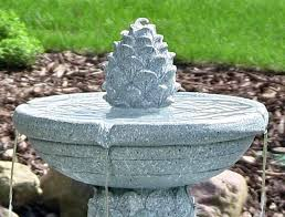 solar fountains with lights solar water fountain pineapple 2 tier solar on demand fountain with