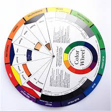 color wheel for makeup artists aliexpress buy 5pcs large artist colour card wheel swatches