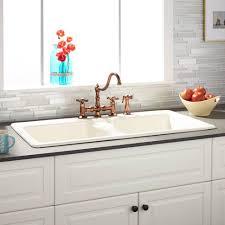 30 Inch Drop In Kitchen Sink Modern Kitchen Bowl Cast Iron Drop In Kitchen Sink Inch
