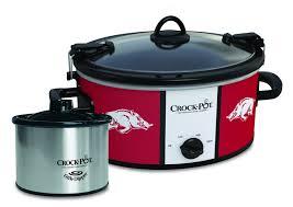 Arkansas Razorback Home Decor by Amazon Com Arkansas Razorbacks Collegiate Crock Pot Cook U0026 Carry