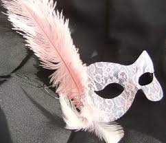 pink masquerade masks baby pink lace butterfly feather masquerade mask