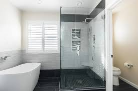 Shower Doors San Francisco San Francisco Frameless Shower Doors Bathroom Contemporary With