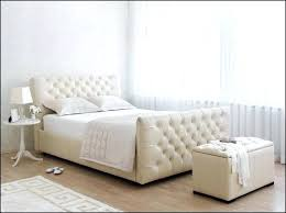 king size bed frame with headboard and footboard attachments back