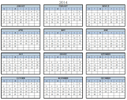 printable calendar year on one page printable calendar pages 2014 printable calendar