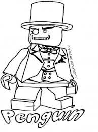 free printable lego batman penguin coloring pages for kids free