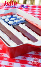 Flags American A Jello American Flag Dessert For A Fun Patriotic Treat