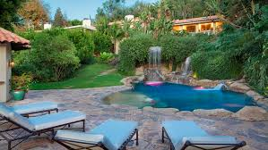 small backyard pool inexpensive small backyard ideas with flagstone deck and cute