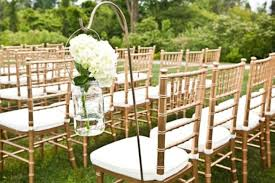 chair rentals for wedding wedding rentals in cleveland oh the knot