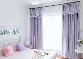 Pastel Purple Curtains 6 Colors Pastel Starry Princess Curtains Sp1711221 U2013 Spreepicky
