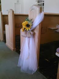 wedding pew bows tulle bow pew search wedding ideas tulle