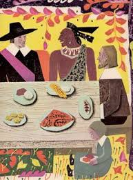 the thanksgiving story by dalgliesh illustrated by helen