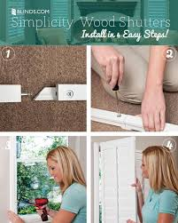 new simplicity shutters that you can install yourself window