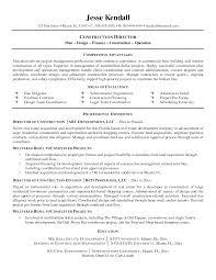 Sample Of A Resume Construction Resume Sample Berathen Com