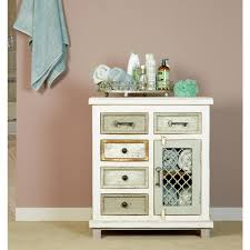 largo antique double door cabinet hillsdale furniture larose rustic white and gray storage cabinet