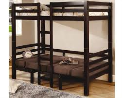 Twin Over Twin Loft Bed by Coaster Furniture Twin Over Twin Convertible Bunk Bed Bunks Co460263