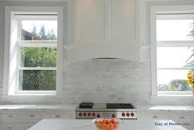 marble tile backsplash kitchen kitchens christopher peacock cabinets white kitchen cabinets