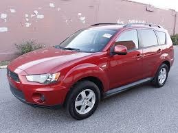 red mitsubishi outlander 2010 red mitsubishi outlander guaranteed credit approval
