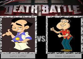 Quagmire Meme - death battle larry laffer v s glenn quagmire by badboylol on