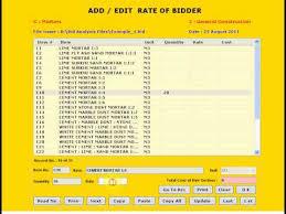 for bid bid analysis software for bid analysis vendor evaluation and