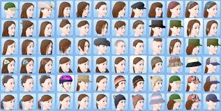 the sims 3 hairstyles and their expansion pack mod the sims no more base game hair female