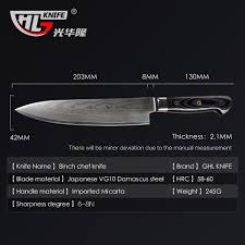 top brand kitchen knives handmade damascus top knife damascus steel straight knives for
