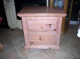 pine nightstand ebay