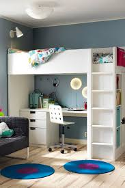 Make Loft Bed With Desk by Best 25 Loft Bed Ikea Ideas On Pinterest Loft Bed Frame Loft