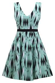 atomic twinkletoes retro diamonds dress by sourpuss u2013 double