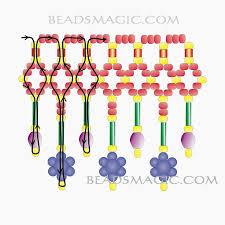 1352 best bead flowers images on pinterest beads beaded flowers