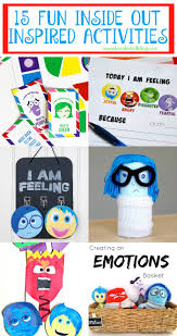 15 fun inside out inspired activites and game