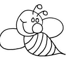 flying bumble bee coloring pages place color 19472