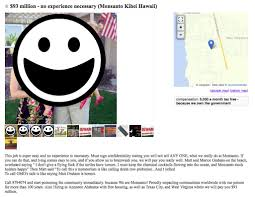 Craigslist Flagged For Removal The Bleeding Of Aloha Ugliness Of The Anti Gmo Movement In Hawaii