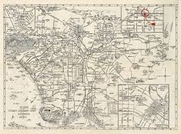 Map Of Los Angeles County by Citydig The Amusements Of 1929 L A Los Angeles Magazine