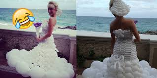disgusting wedding dresses 15 horrible wedding dresses that ll scare the groom away onedio co