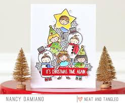 christmas pageant nice and neat dies neat and tangled