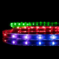 rgb led strip lighting meilo 16 4 ft color changing rgb led strip light shop your way