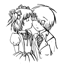 cute couple coloring pages coloring page