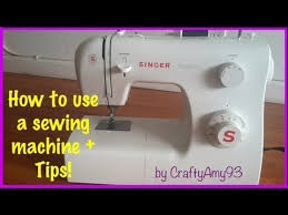 how to use a sewing machine sewing tips easy for beginners