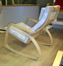 Poang Rocking Chair For Nursery Finally Ikea Poäng Rocking Chair Apartment Therapy