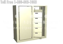 Secure Filing Cabinet Rotary Cabinets Spin To Secure Enclosed Items Revolving Double