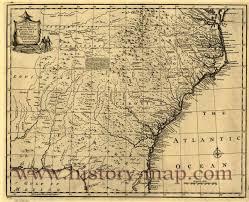 Map Of N Carolina Of North U0026 South Carolina Georgia
