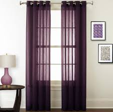 Crushed Sheer Voile Curtains by Nicetown Sheer Curtain Panels U2013 Ease Bedding With Style