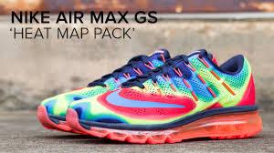 Nike Map Nike Air Max U0027heat Map U0027 Pack Quick Look Youtube